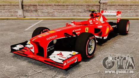 Ferrari F138 2013 v6 pour GTA 4