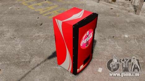 Distributeurs automatiques de Coca-Cola pour GTA 4 troisième écran