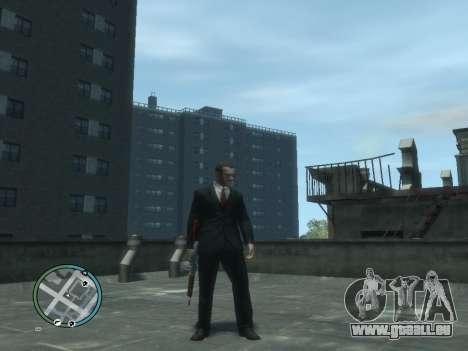 Thompson pour GTA 4 secondes d'écran