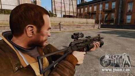 Submachine gun pp-19 Bizon pour GTA 4 secondes d'écran