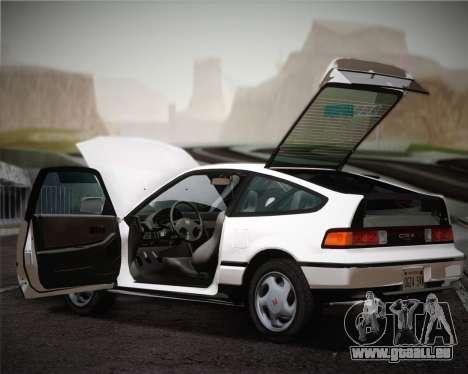 Honda CR-X 1991 pour GTA San Andreas vue de côté