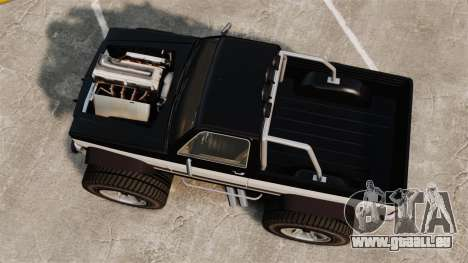 Monster Truck für GTA 4 rechte Ansicht