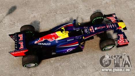 Auto, Red Bull RB9 v3 für GTA 4 rechte Ansicht