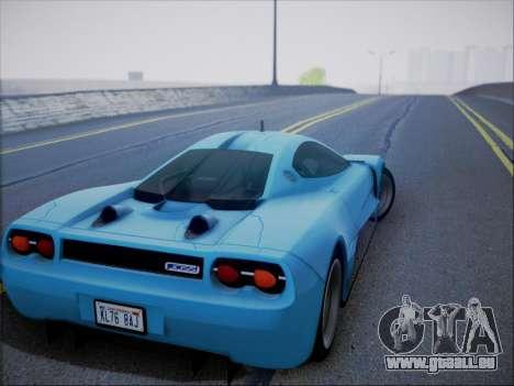 Joss JP1 2010 Supercar V1.0 pour GTA San Andreas vue de côté