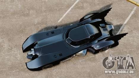 Das Skript das Batmobil für GTA 4 dritte Screenshot