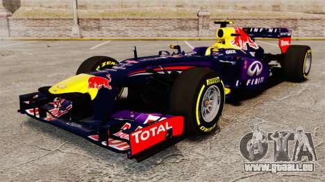 Auto, Red Bull RB9 v5 für GTA 4