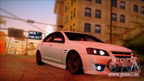 Chevrolet Omega pour GTA San Andreas laissé vue