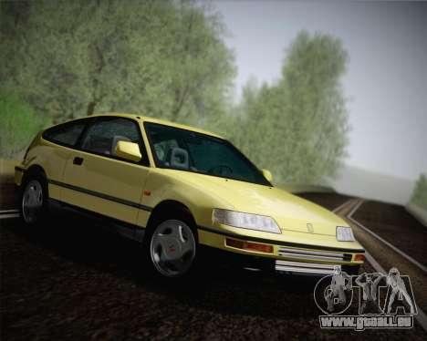 Honda CR-X 1991 pour GTA San Andreas vue de droite