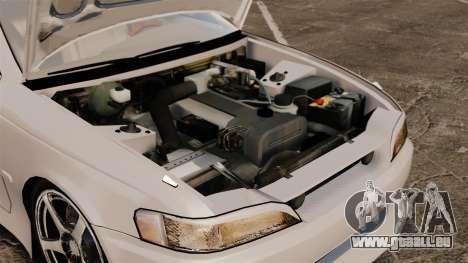 Toyota Mark II 1990 v2 für GTA 4 Rückansicht