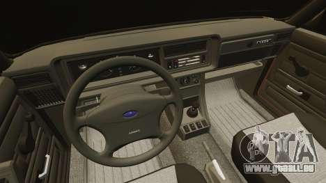 VAZ-2107 für GTA 4 obere Ansicht