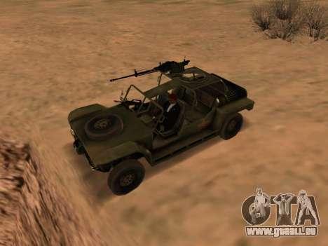 FAV aus Battlefield 2 für GTA San Andreas linke Ansicht