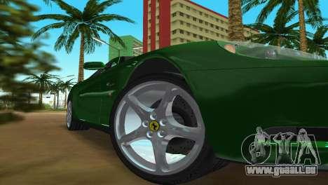Ferrari 612 Scaglietti 2005 pour GTA Vice City vue latérale