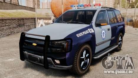 Chevrolet Trailblazer 2002 Massachusetts Police für GTA 4