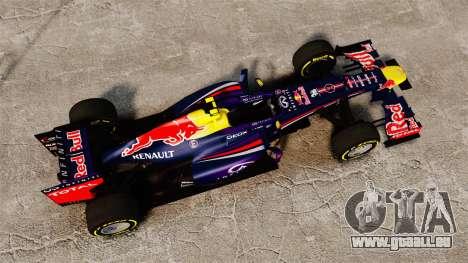 Auto, Red Bull RB9 v5 für GTA 4 rechte Ansicht