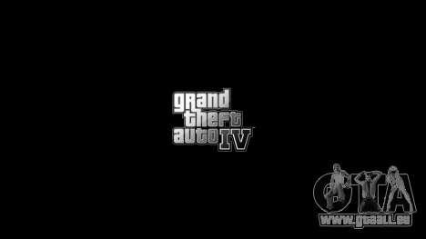 Mise à jour des menus et des écrans de chargemen pour GTA 4 troisième écran