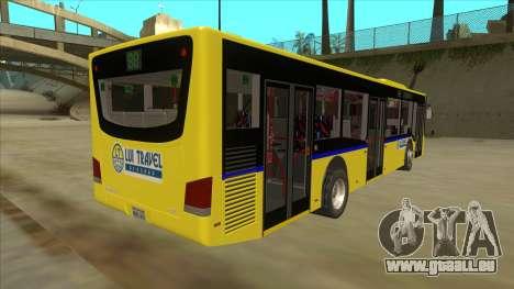 Bus Line 88 Novi Zeleznik pour GTA San Andreas vue de droite