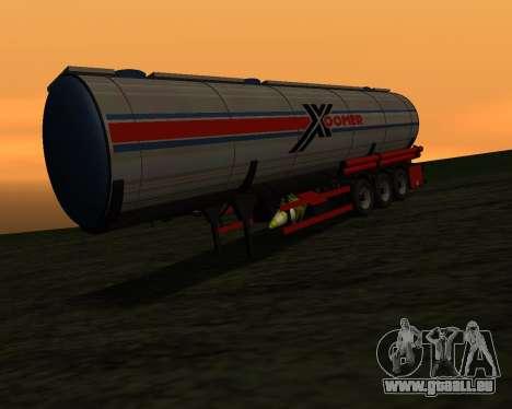 Auflieger Container Xoomer für GTA San Andreas