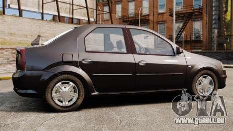 Dacia Logan 2008 v2.0 pour GTA 4 est une gauche