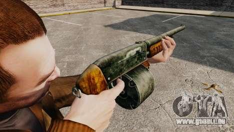 Fusil de chasse de pompe-action pour GTA 4 secondes d'écran