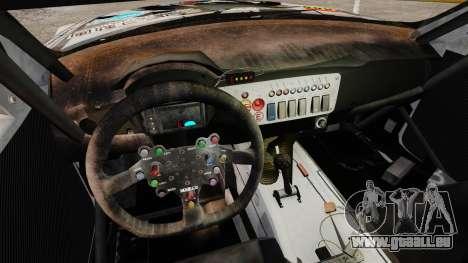 BMW Z4 M Coupe GT Black Rock Shooter pour GTA 4 Vue arrière de la gauche