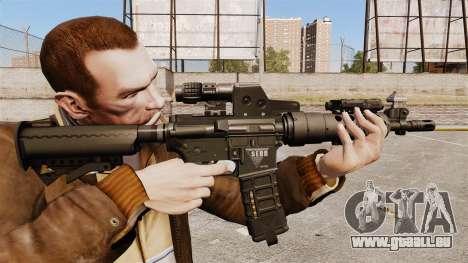 Taktische M4-v2 für GTA 4