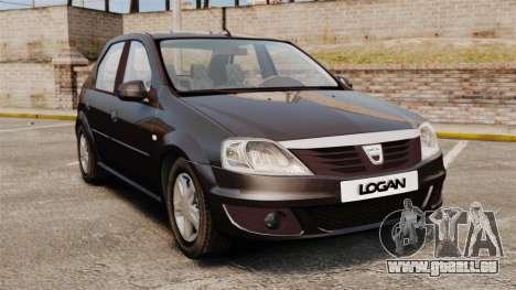 Dacia Logan 2008 v2.0 pour GTA 4