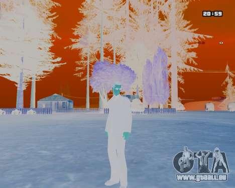 White NarcomaniX Colormode pour GTA San Andreas deuxième écran