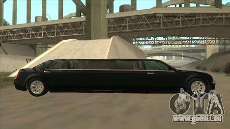 Chrysler 300C Limo 2006 pour GTA San Andreas laissé vue