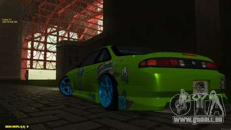 Nissan Silvia S14 CIAY pour GTA San Andreas vue intérieure
