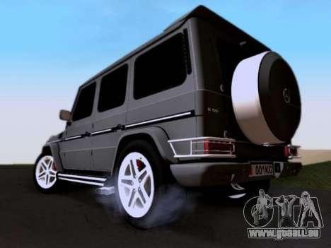 Mercedes-Benz G55 AMG für GTA San Andreas Unteransicht