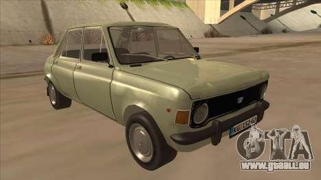 Zastava 1100 pour GTA San Andreas laissé vue