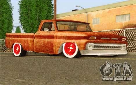Chevrolet C10 Rat Style pour GTA San Andreas