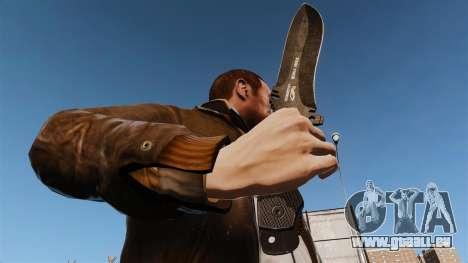 Couteau tactique v6 pour GTA 4 troisième écran