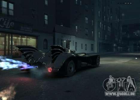 Das Skript das Batmobil für GTA 4 Sekunden Bildschirm