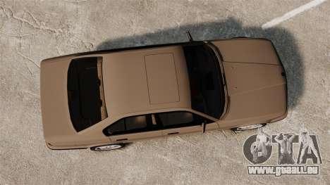 BMW M5 E34 für GTA 4 rechte Ansicht