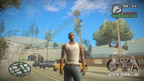 GTA HD Mod pour GTA San Andreas deuxième écran
