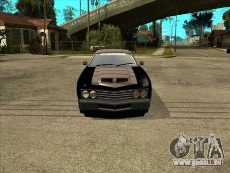 Remington pour GTA San Andreas vue de droite