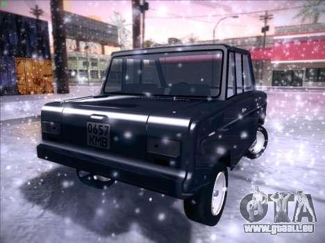 Serpuchowski Awtomobilny Sawod-3D für GTA San Andreas Innenansicht