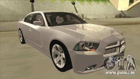 Dodge Charger RT 2011 V2.0 pour GTA San Andreas laissé vue