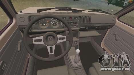 Volkswagen Golf MK1 GTI für GTA 4 Rückansicht