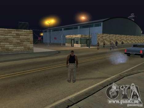 Le nouvel aéroport, Los Santos pour GTA San Andreas cinquième écran