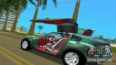Infiniti Triant pour GTA Vice City sur la vue arrière gauche