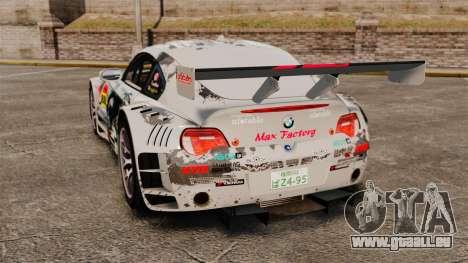 BMW Z4 M Coupe GT Black Rock Shooter pour GTA 4 est un droit