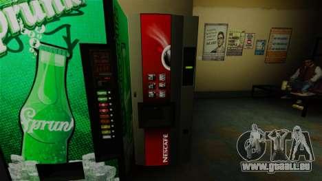 Der Office-Automat Nescafe für GTA 4