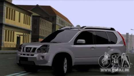 Nissan X-Trail 2007 pour GTA San Andreas sur la vue arrière gauche