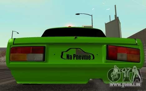 VAZ 2105 Rogue pour GTA San Andreas vue de droite