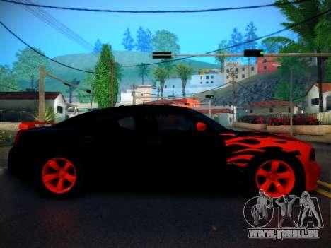 Dodge Charger SRT-8 Tuning pour GTA San Andreas laissé vue