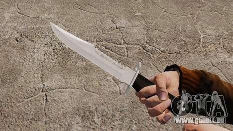 Couteau l'Alabama Slammer, chromé pour GTA 4