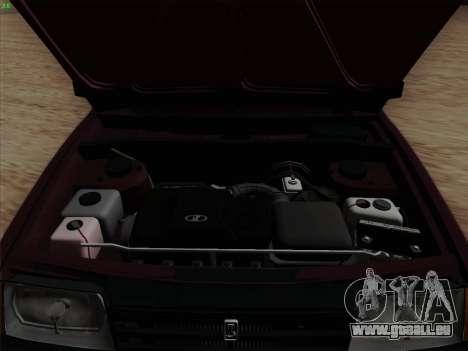 VAZ 2109 pour GTA San Andreas moteur