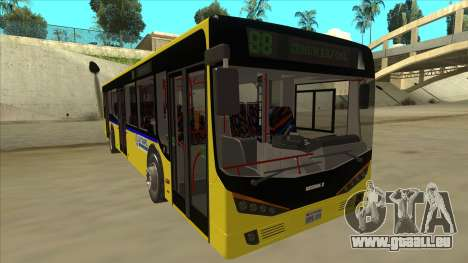 Bus Line 88 Novi Zeleznik für GTA San Andreas linke Ansicht